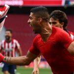 لويس سواريز يحرز هدف الليغا لصالح اتليتكو مدريد